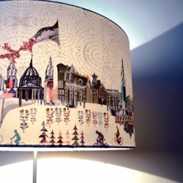 Secret London Lampshade