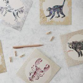 Josie Shenoy Animal Greeting Cards