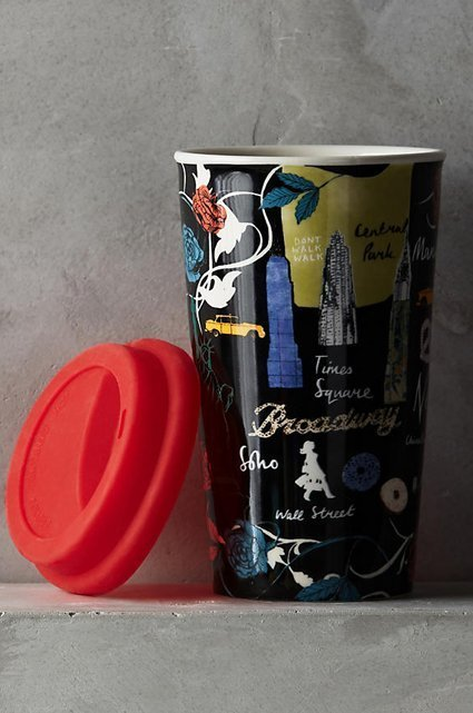 Josie Shenoy Anthropologie Travel Mug