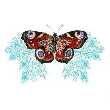 Josie Shenoy Peacock Butterfly