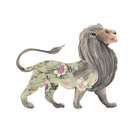 Josie Shenoy Lion Print
