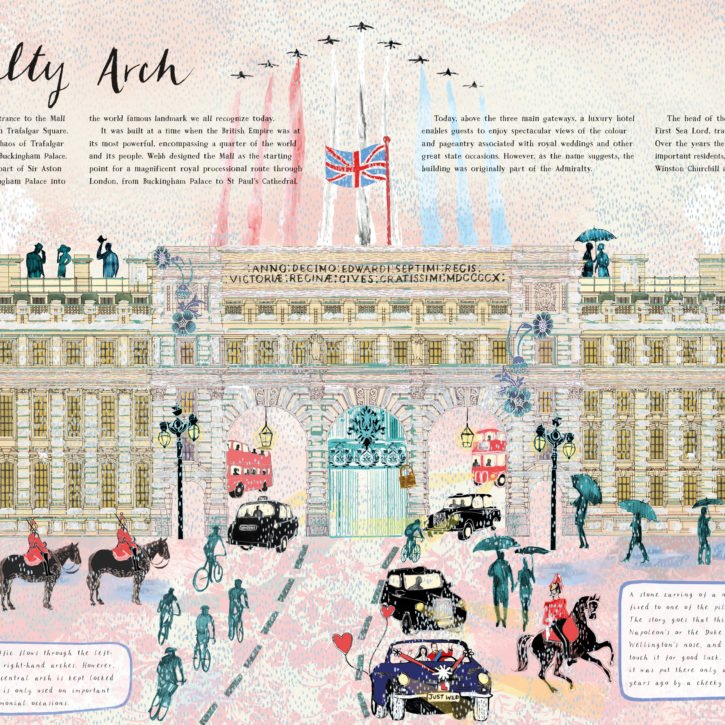 The Buildings That Made London Admiralty Arch Josie Shenoy
