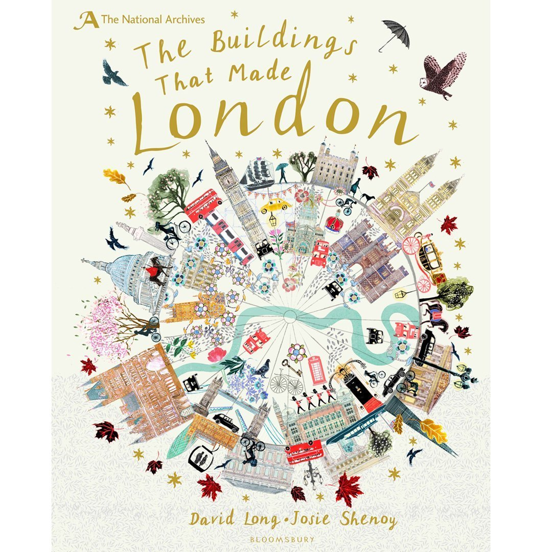 The Buildings That Made London Cover Josie Shenoy