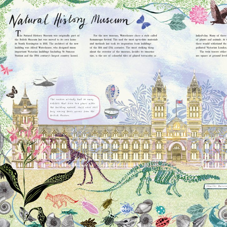 The Buildings That Made London Natural History Museum Josie Shenoy