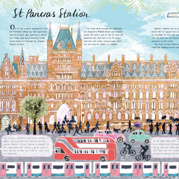 The Buildings That Made London Natural St Pancras Station Josie Shenoy