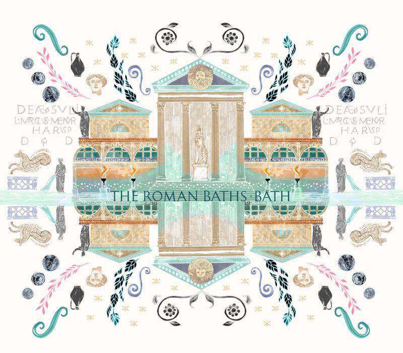 Josie Shenoy Roman Baths