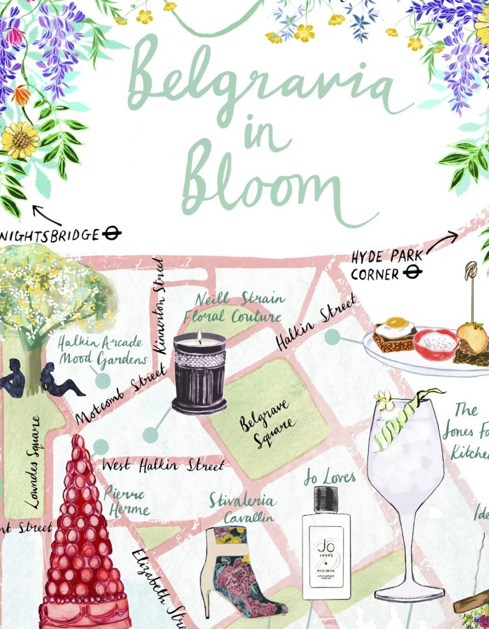 Josie Shenoy Belgravia in Bloom