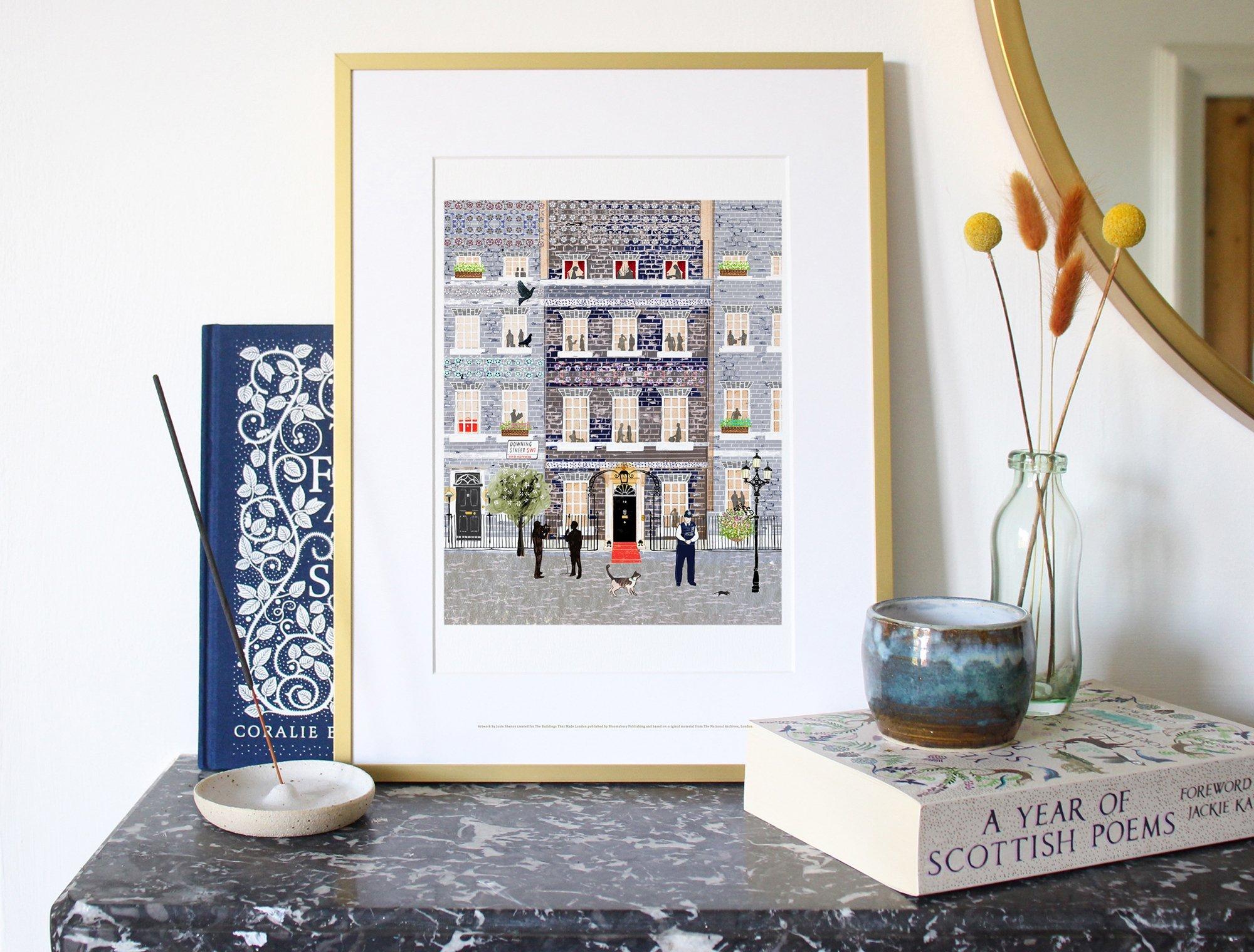 Josie Shenoy Downing Street Art Print
