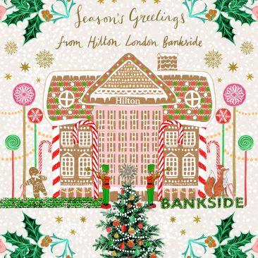 Josie Shenoy Hilton Christmas card