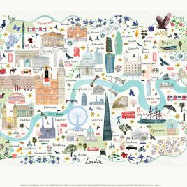 London Map Josie Shenoy