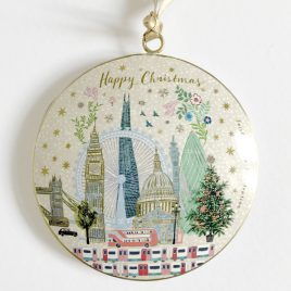Josie Shenoy London Skyline Christmas Decoration