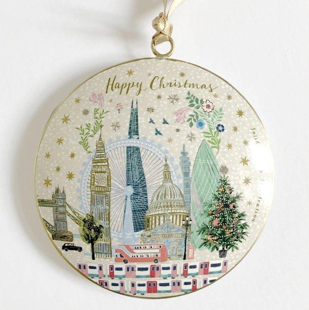 Josie Shenoy London Skyline Christmas Decoration