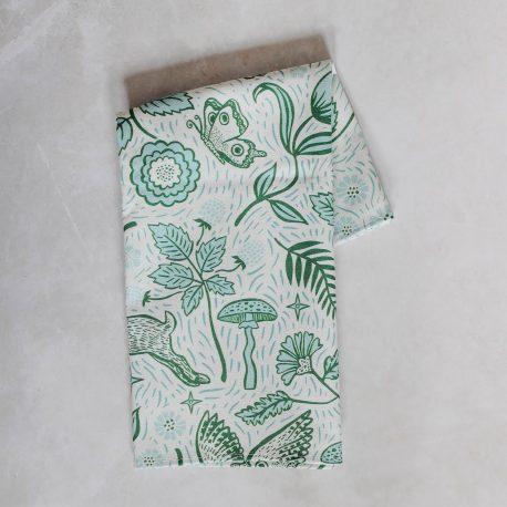 Josie Shenoy Tea Towel Woodland