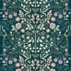 Josie Shenoy English Garden Fabric - Teal