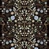 Josie Shenoy English Garden Fabric - Black