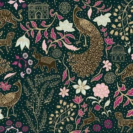 Josie Shenoy Jaipur Fabric - Forest