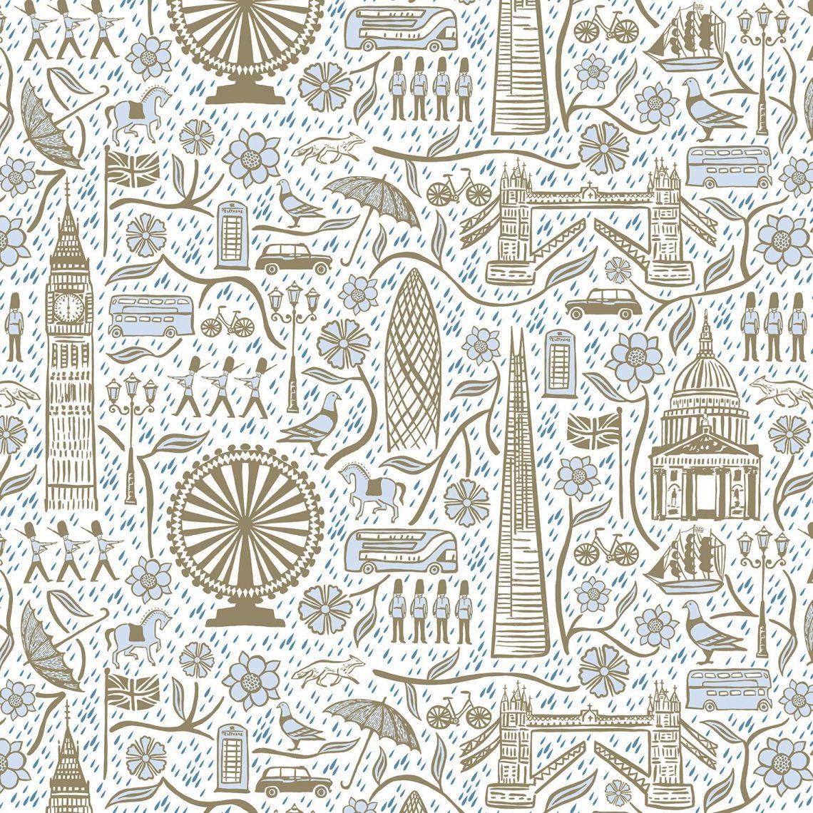 Josie Shenoy London Life Fabric - Day