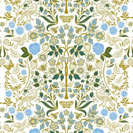 Josie Shenoy English Garden Fabric - Cream